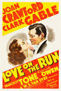 "Movie Posters:Comedy, Love On the Run (MGM, 1936). One Sheet (27"" X 41"") Style D.. ..."
