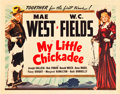 "Movie Posters:Comedy, My Little Chickadee (Universal, 1940). Half Sheet (22"" X 28"").. ..."