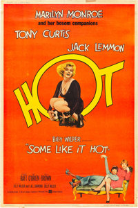 """Some Like It Hot (United Artists, 1959). Poster (40"""" X 60"""") Style Z"""