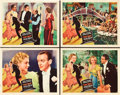 "Movie Posters:Musical, Top Hat (RKO, 1935). Lobby Cards (4) (11"" X 14"").. ... (Total: 4Items)"