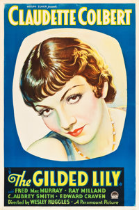 "The Gilded Lily (Paramount, 1935). One Sheet (27"" X 41"")"