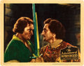 "Movie Posters:Swashbuckler, The Adventures of Robin Hood (Warner Brothers, 1938). Lobby Card(11"" X 14"").. ..."