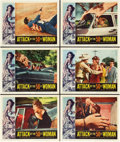 "Movie Posters:Science Fiction, Attack of the 50 Foot Woman (Allied Artists, 1958). Lobby Cards (6)(11"" X 14"").. ... (Total: 6 Items)"