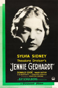 "Movie Posters:Drama, Jennie Gerhardt (Paramount, 1933). One Sheet (26"" X 39.75"").. ..."