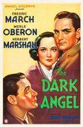 "Movie Posters:Drama, The Dark Angel (United Artists, 1935). One Sheet (27"" X 41"").. ..."