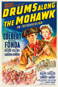 "Movie Posters:Adventure, Drums Along the Mohawk (20th Century Fox, 1939). One Sheet (27"" X41"") Style A.. ..."