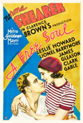 "Movie Posters:Drama, A Free Soul (MGM, 1931). One Sheet (27"" X 41"").. ..."