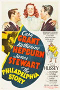 "Movie Posters:Comedy, The Philadelphia Story (MGM, 1940). One Sheet (26.75"" X 40"") Style C.. ..."