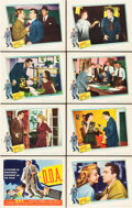 "Movie Posters:Film Noir, D.O.A. (United Artists, 1950). Lobby Card Set of 8 (11"" X 14"")..... (Total: 8 Items)"