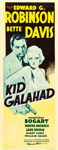 "Movie Posters:Crime, Kid Galahad (Warner Brothers, 1937). Insert (14"" X 36"").. ..."