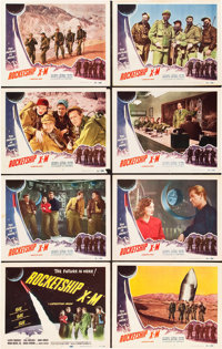 "Rocketship X-M (Lippert, 1950). Lobby Card Set of 8 (11"" X 14""). ... (Total: 8 Items)"