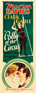 """Movie Posters:Drama, Polly of the Circus (MGM, 1932). Insert (14"""" X 36"""").. ..."""