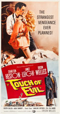 "Movie Posters:Film Noir, Touch of Evil (Universal International, 1958). Three Sheet (41"" X81"").. ..."