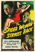 "Movie Posters:Horror, The Spider Woman Strikes Back (Universal, 1946). One Sheet (27"" X41"").. ..."