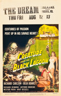 """Movie Posters:Horror, Creature from the Black Lagoon (Universal International, 1954).Window Card (14"""" X 22"""").. ..."""