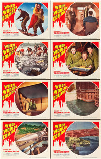 "When Worlds Collide (Paramount, 1951). Lobby Card Set of 8 (11"" X 14""). ... (Total: 8 Items)"