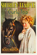 "Movie Posters:Musical, Curly Top (Fox, 1935). One Sheet (27"" X 41"") Style B.. ..."
