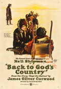 "Movie Posters:Action, Back to God's Country (First National, 1919). One Sheet (28.25"" X 41"").. ..."