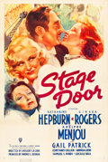 "Movie Posters:Drama, Stage Door (RKO, 1937). One Sheet (27"" X 41"").. ..."