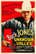 "Movie Posters:Western, Unknown Valley (Columbia, 1933). One Sheet (27"" X 41"").. ..."