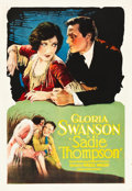 "Movie Posters:Drama, Sadie Thompson (United Artists, 1928). One Sheet (27"" X 41"").. ..."