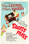 "Movie Posters:Comedy, Swiss Miss (MGM, 1938). One Sheet (27"" X 41"") Style D.. ..."