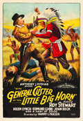 "Movie Posters:Western, With General Custer at the Little Big Horn (Aywon Film, 1926). OneSheet (28.5"" X 41"").. ..."