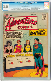 Adventure Comics #247 (DC, 1958) CGC GD/VG 3.0 Off-white to white pages