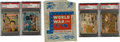 "Non-Sport Cards:Sets, 1942 R164 Gum Inc. ""War Gum"" Complete Set (132) Plus Wrapper. ..."