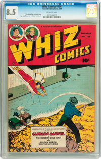 Whiz Comics #106 (Fawcett, 1949) CGC VF+ 8.5 Off-white pages