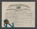 Autographs:U.S. Presidents, William McKinley Appointment Signed as President....