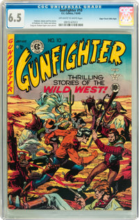 Gunfighter #10 Mile High pedigree (EC, 1949) CGC FN+ 6.5 Off-white to white pages