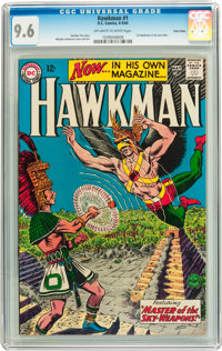 Hawkman #1 Twin Cities pedigree (DC, 1964) CGC NM+ 9.6 Off-white to white pages