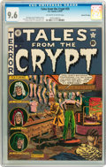 Golden Age (1938-1955):Horror, Tales From the Crypt #25 Gaines File pedigree 6/12 (EC, 1951) CGCNM+ 9.6 Off-white to white pages....