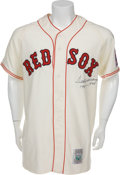 "Autographs:Jerseys, 1990's Ted Williams ""1941-.406"" Signed Jersey...."