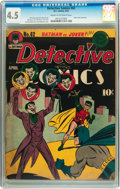 Golden Age (1938-1955):Superhero, Detective Comics #62 (DC, 1942) CGC VG+ 4.5 Cream to off-white pages....