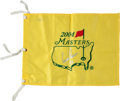 Golf Collectibles:Autographs, Arnold Palmer Signed Flag....