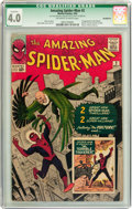 Silver Age (1956-1969):Superhero, The Amazing Spider-Man #2 (Marvel, 1963) CGC Qualified VG 4.0 Off-white to white pages....