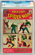 Silver Age (1956-1969):Superhero, The Amazing Spider-Man #4 (Marvel, 1963) CGC VG/FN 5.0 Off-white pages....