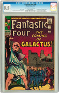 Silver Age (1956-1969):Superhero, Fantastic Four #48 (Marvel, 1966) CGC VF+ 8.5 Off-white to white pages....