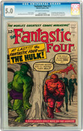 Fantastic Four #12 (Marvel, 1963) CGC VG/FN 5.0 Off-white to white pages