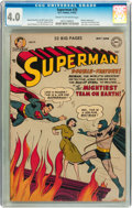 Golden Age (1938-1955):Superhero, Superman #76 (DC, 1952) CGC VG 4.0 Cream to off-white pages....