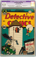 Golden Age (1938-1955):Superhero, Detective Comics #68 (DC, 1942) CGC Apparent VG 4.0 Slight (A) Cream to off-white pages....