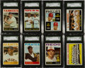 Baseball Cards:Sets, 1964 Topps Baseball Mid To High Grade Complete Set (587)....