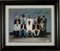 Autographs:Photos, Late 1980's 500 Home Run Club Signed Large Photograph....