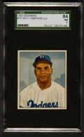 Baseball Cards:Singles (1950-1959), 1950 Bowman Roy Campanella #75 SGC 84 NM 7....