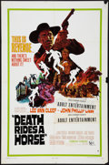 "Movie Posters:Western, Death Rides a Horse (United Artists, 1968). One Sheet (27"" X 41"") & Lobby Cards (5) (11""X 14""). Western.. ... (Total: 6 Items)"