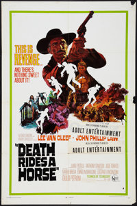 "Death Rides a Horse (United Artists, 1968). One Sheet (27"" X 41"") & Lobby Cards (5) (11""X 14""..."