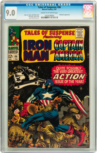 Tales of Suspense #86 (Marvel, 1967) CGC VF/NM 9.0 Cream to off-white pages