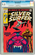 Silver Age (1956-1969):Superhero, The Silver Surfer #6 (Marvel, 1969) CGC VF/NM 9.0 Cream to off-white pages....
